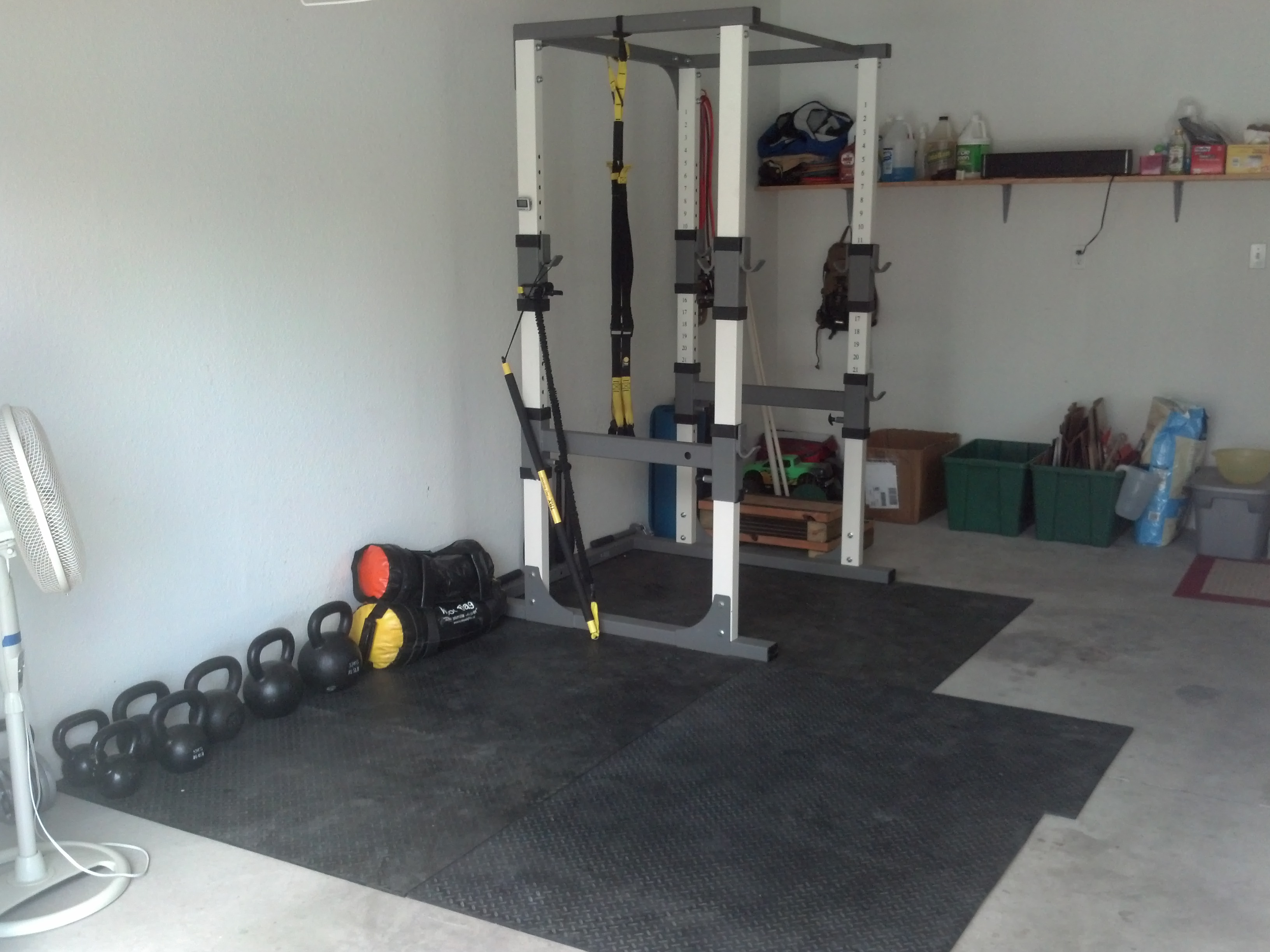 My Home Gym Set Up
