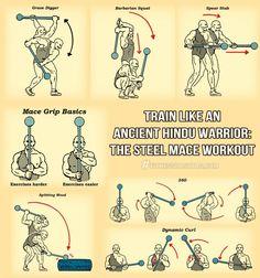 Mace Training for Mountain Biking: Using Hindu Warrior Training for the Trail
