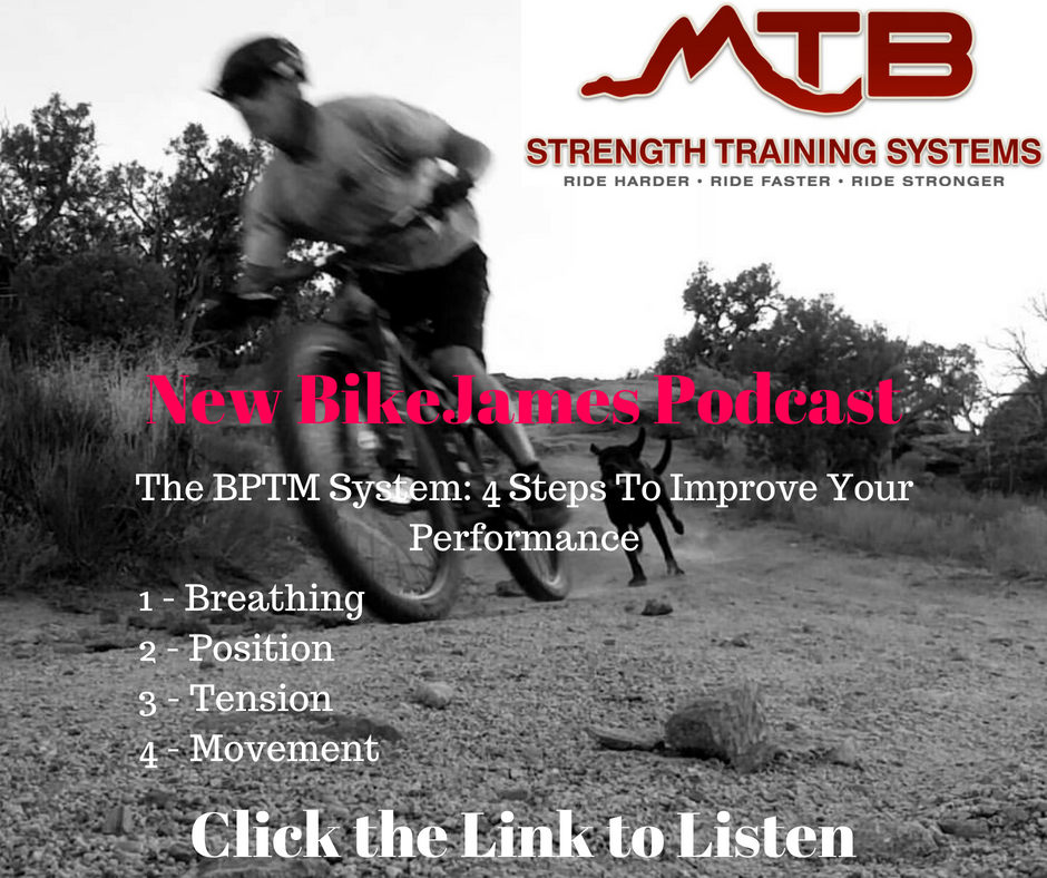 BikeJames Podcast – The BPTM System – 4 Steps to Improving Your Performance
