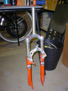 A Z1 with a threaded steerer tube - old school!