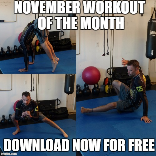 November Workout of the Month – Download Now for Free