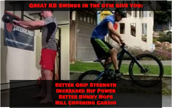 Kettlebell Swings for Mountain Biking Virtual Workshop – Learn the Secrets to Getting More Results Out of Every Rep