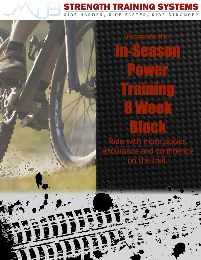 Attention: New program for riders looking to maximize their power on the trail.