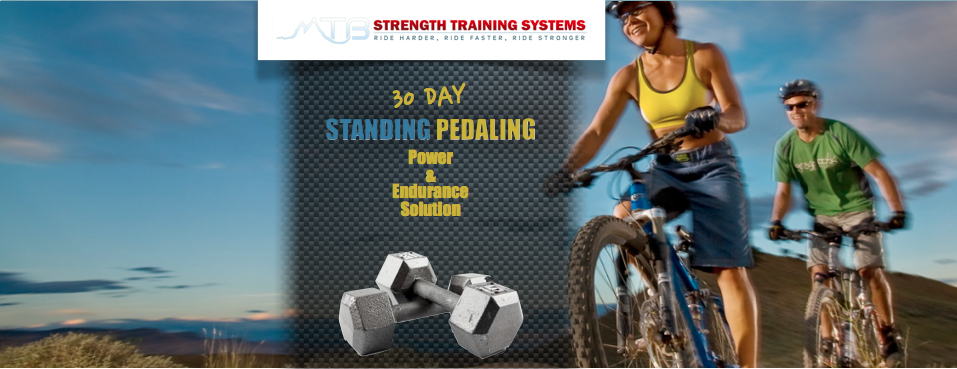 Get my new 30 Day Standing Pedaling Power & Endurance Solution for over 50% off!