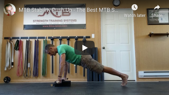 MTB Stability Push Up – The Best MTB Specific Push Up You Can Do
