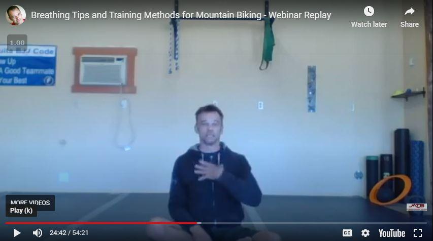 Breathing Tips & Training Methods for MTB – Webinar Replay