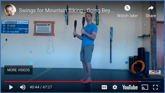 Swings For Mountain Biking: Going Beyond The Kettlebell – Free Webinar Replay