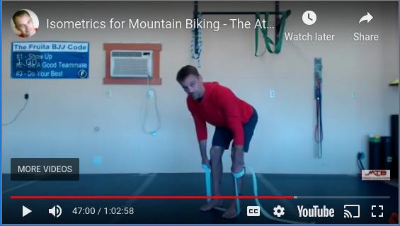 Isometrics For Mountain Biking – What Is The Atomic Strength Training Program?