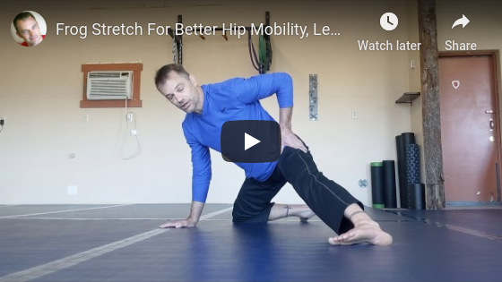 Frog Stretch For Better Hip Mobility, Less Back Pain From Mountain Biking
