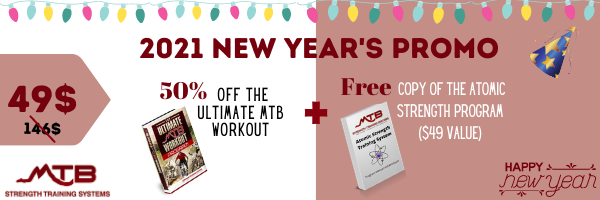 2021 New Year's Sale – Save big on the Ultimate MTB Workout + more!