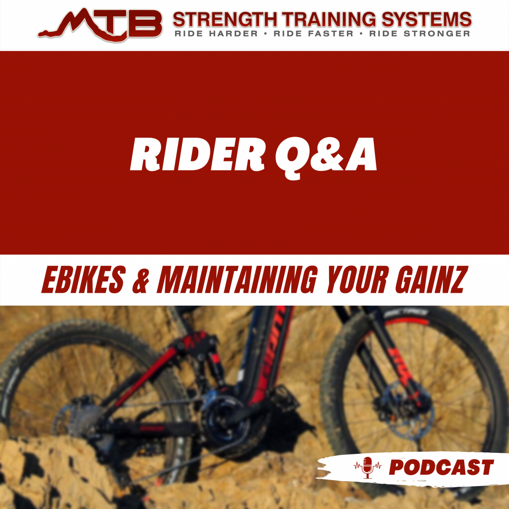Rider Q&A – Ebikes & Maintaining Your Gainz