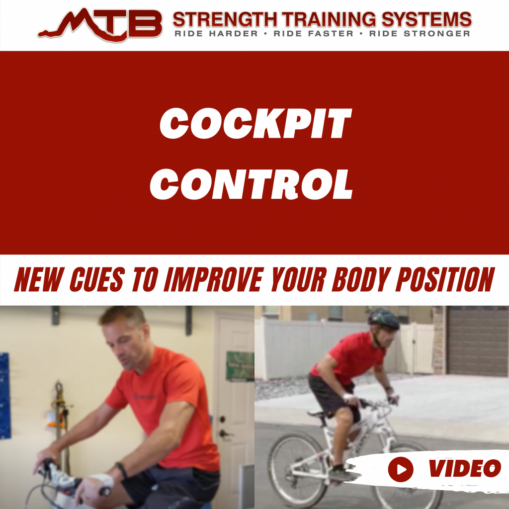 Cockpit Control – New Cues To Improve Your Body Position